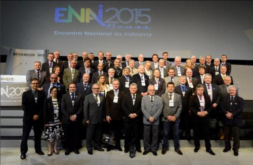 PRESIDENTE DO SINBORSUL PARTICIPA DO ENAI 2015