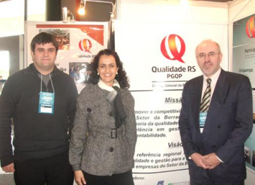 PARTICIPA��O DO COMIT� SETORIAL DA BORRACHA NO EVENTO DO PGQP